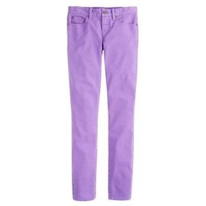 J.CREW Colored Mid-Rise Skinny Toothpick Jeans E8